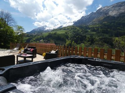 Photo for Between Annecy and La Clusaz wifi jacuzzi baby comfort animals accepted