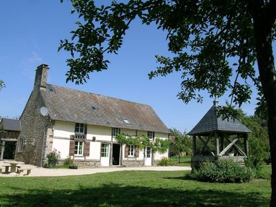Photo for Pleasant and homely farmhouse near Mont St-Michel and St-Malo