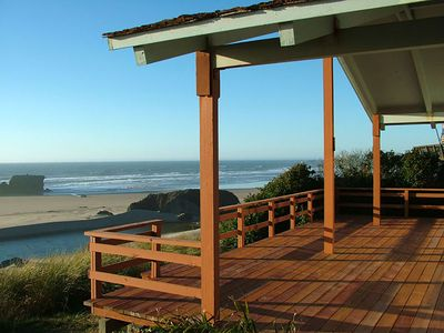 Photo for Beautiful views from this oceanfront bungalow