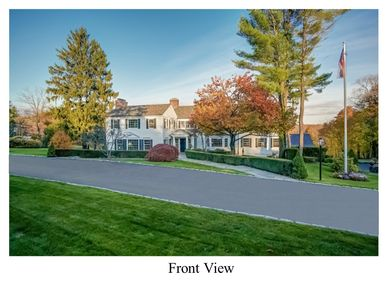 Round Hill Road Estate Home With 5 Open Acres