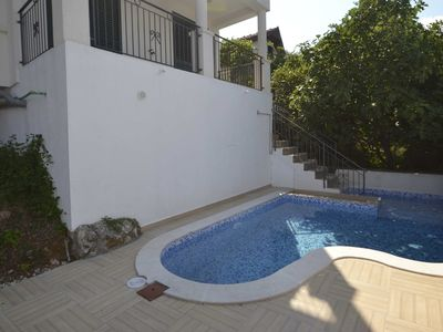 Photo for Private pool and sun terraces with spectacular panoramic views of Kotor Bay
