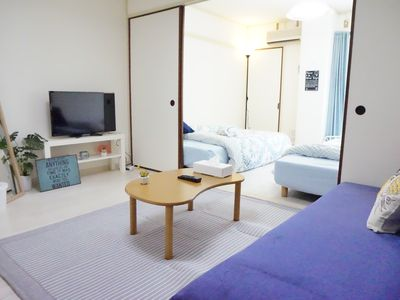 Photo for 5min walk to Shin-Osaka, 4beds& 5persons