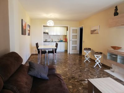Photo for Apartment in Playa dels Llenguadets