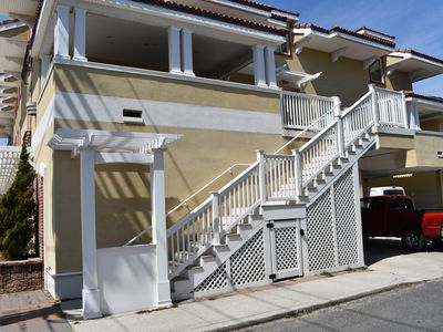 Photo for Three Houses from the Beach! 4 bedroom, sleeps 10!