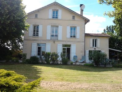 Photo for Beautiful French House Enclosed In Mature Gardens With Private Pool.