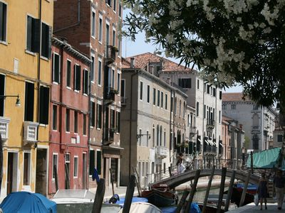 Photo for Luxury canal-side apartment in heart of Dorsoduro - Fully Inclusive Rates