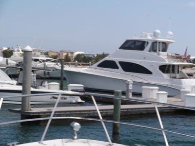 Photo for RW Bimini Resort Boat Slip .. up to 65 ft . Steps away from Hilton and Casino