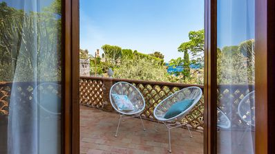 Photo for Baia Mazzarò garden, vacation home at a few steps from the beach