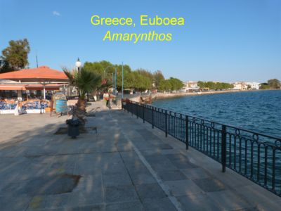 Photo for Apt 30 meters from beach, Amarynthos town