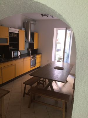 Photo for Spacious apartment with 30 sqm barbecue terrace on 150 sqm