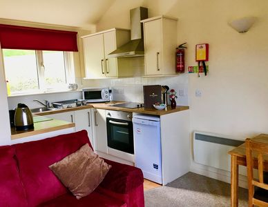 Our open plan kitchen/diner living space
