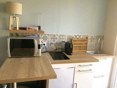 Photo for Charming Studio 20 meters from the beach