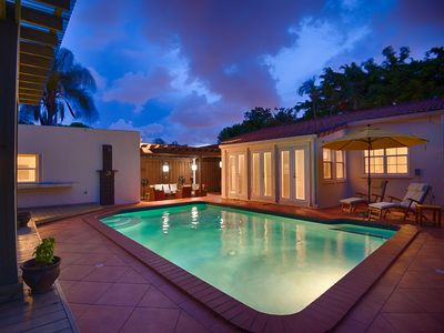 Your Pool, Gazebo on Left, Guest House (Casita), Outdoor LR, Back Entry!