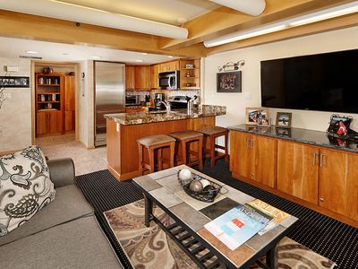 Photo for 1 Bedroom, 1 Bath Ski-in/Ski-out with Fireplace in the Sleeping Area Stonebridge