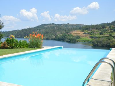 Photo for HOLIDAY HOME WITH PRIVATE POOL, near Porto, 20 meters from the River TÂMEGA