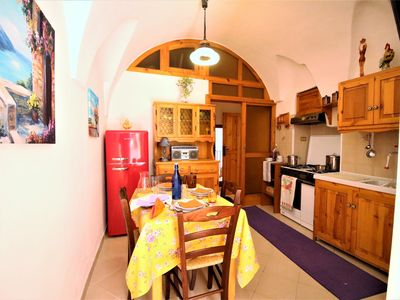Photo for evocative one bedroom apartment in the square of Sperlonga