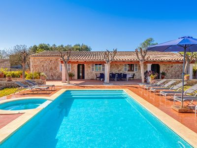 Photo for Rustic Country House with Pool, Jacuzzi, Terraces, Wi-Fi and Beautiful Garden