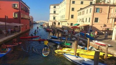 Photo for accommodation in the center of Chioggia with breathtaking views