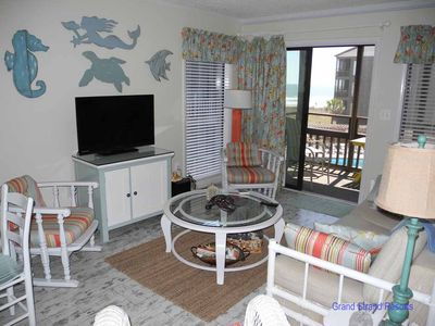 Photo for Tilghman Beach and Racquet Club Unit: 220! 3 Bedroom Ocean View Condo. Book now for best rates!