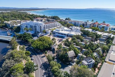 Wow, imagine your next holiday here, metres to Noosa Main Beach Hastings Street.