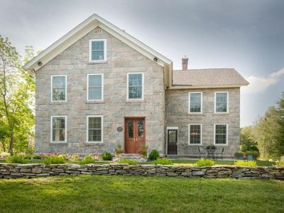 Photo for A Historic Place to Stay for Your Historic Days. Gracious granite home + Tavern
