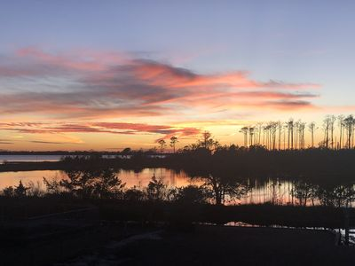 """Photo for Retreat """"Down East"""" in Beaufort! - Waterfront, Private Dock, Kayaks, & Serenity!"""