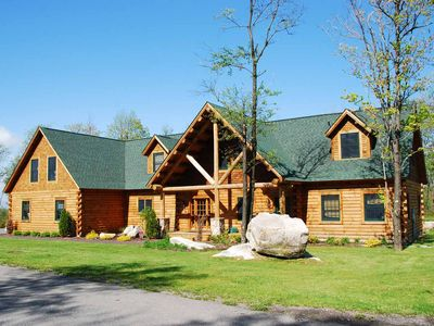 Photo for Ski In/Ski Out in lake area, hot tub, fire pit, 5 master suites!