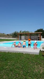 Photo for Harmony, Emotion of Barone house, villa with pool, sea view, free wifi