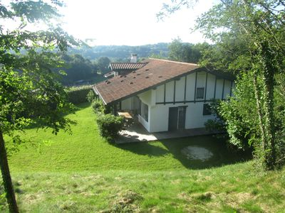 Photo for Unobstructed view of the Pyrenees and the Rhune !!   House on the hillside