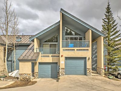 Photo for Breckenridge Townhome w/Hot Tub - Walk to Lifts!
