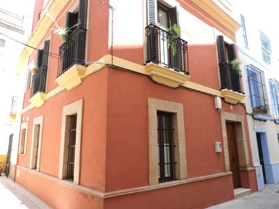 Photo for Beautiful 18th C.House in Center of Seville:Terrace &Free Wifi.