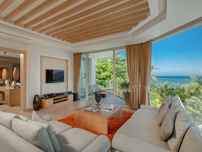 Photo for Boutique luxury apartment on the beach with breathtaking Andaman views