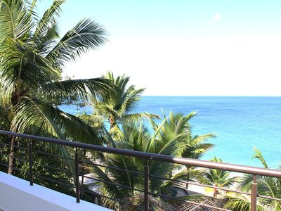 Photo for Beachfront Penthouse in the center of Sosua, Amazing Sea Views!