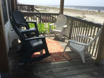 RELAX on the Ocean Front deck of  Atlantic Dream!  - Spectacular Ocean View!