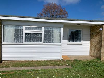 Photo for South facing family chalet 5 min stroll to the  beach and near Norfolk Broads