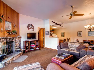 Photo for Knock out Mountain Decor, everything one would need in a condo.
