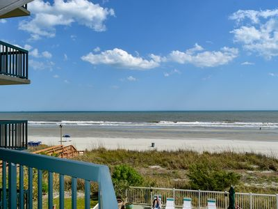 Photo for Spacious 4 Bedroom/3 Bath Oceanfront Condo.  Outdoor, Indoor pool.  Lazy River. Jacuzzi.  Fitness Room.