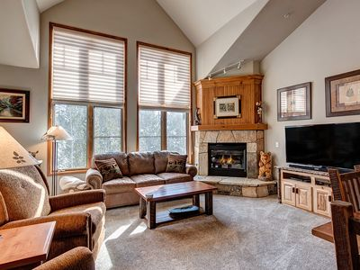 Photo for Ski-in/ski-out, garage, hot tub access!