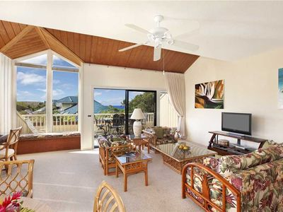 Photo for Poipu Carefree and Relaxed Island Feeling A/C Master bedroom *Manualoha 1105*