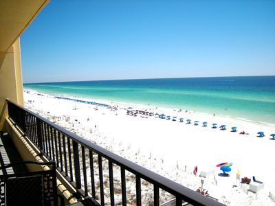 Photo for SD708: NEWLY REMODELED - Spacious, TOP Flr, Beach FRONT Condo, 30' balco