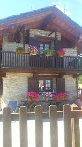 Photo for shed traditional Aosta Valley in Vetan to 1700 mt