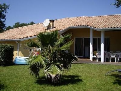 Photo for Messanges: beautiful villa in a quiet area close to the ocean and shops