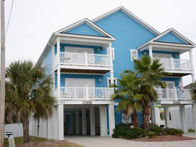 Photo for Garden City Beach House ,Steps to Beach,Private Heated Pool, Linens,Ocean Views