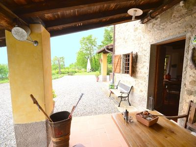 Photo for Authentic Tuscan country home situated between Pistoia and Lucca
