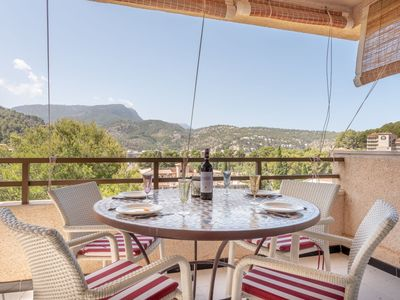Photo for Fantastic Apartment with Mountain View, Terrace and Wi-Fi