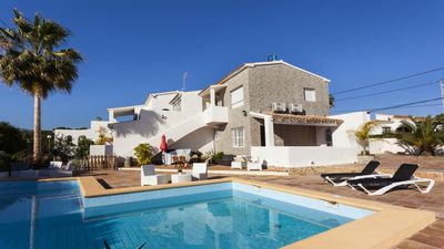 Photo for CHIC 1 - Modern apartment in Calpe for 2 people 1 km away from the beach of La Fustera