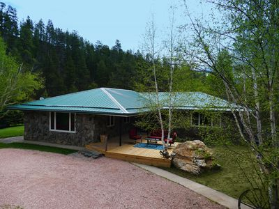 Photo for Beautiful, secluded creek side getaway! Book your summer vacation now!