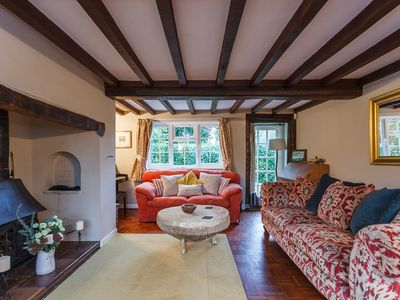 Photo for Rose Cottage, Burley, New Forest National Park - dog & child friendly