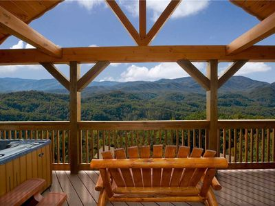 Photo for A True Dream | Majestic Mountain View | WiFi | Game Room | Near Dollywood | Loft | Sleeps 6