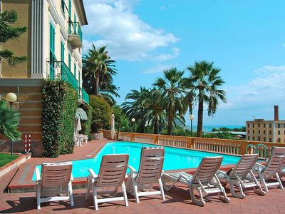 Photo for Residence Miramare, Imperia  in Riviera di Ponente - 2 persons